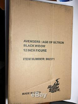1/6 Hot Toys MMS288 Avengers Age of Ultron Black Widow FREE SHIPPING