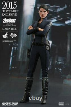 1/6 Hot Toys Maria Hill MMS305 Avengers Age Of Ultron New Sealed Shipper
