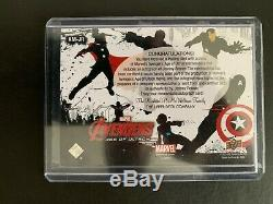 2015 Marvel Avengers Age of Ultron Jeremy Renner Hawkeye Relic Auto Autograph