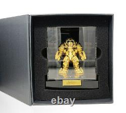2016 SDCC Exclusive Beast Kingdom Avengers Hulkbuster 24K Gold Plated Statue