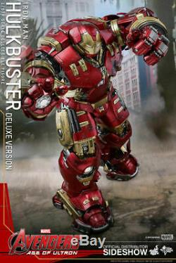 2020 Hot Toys Avengers Age of Ultron Hulkbuster Deluxe Version MMS 510 NEW NIB