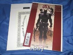 AGE OF ULTRON #1 Signed Stan Lee withCOA Hawkeye Variant / Marvel / Avengers