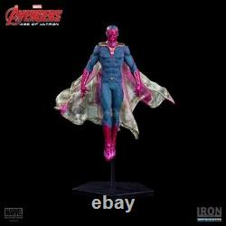 Action Figure Vision Age of Ultron Iron Studios Scale 110 Polystone