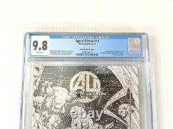 Age of Ultron #10 1100 variant CGC 9.8 NM/M 1st Angela in Marvel Avengers Thor