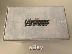 Avengers Age Of Ultron 1 Click Boxset 3D Blu-ray SteelBook Novamedia Exclusive