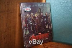 Avengers Age Of Ultron Lenticular Blufans Blu-ray Steelbook New & Sealed