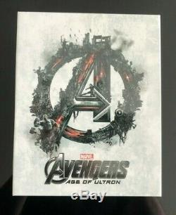 Avengers Age Of Ultron One-click Novamedia Sealed Steelbook Rare Oop