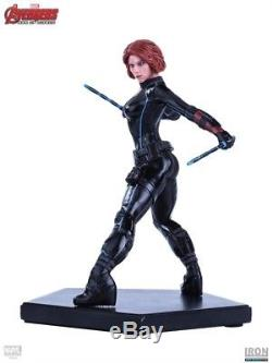Avengers Age of Ultron Black Widow Art Scale 1/10 Iron Studios Marvel NEW