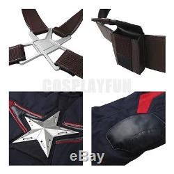 Avengers Age of Ultron Captain America Steve Rogers Cosplay Costume