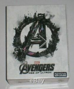 Avengers Age of Ultron Nova Media One Click Blu Ray Steelbook Set New Number 008