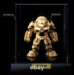 BEAST KINGDOM Avengers 2016 SDCC 24K Gold Exclusive Plated Hulkbuster Mark 44