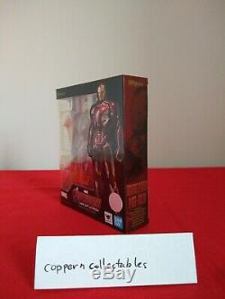 Brand new authentic Bandai S. H. Figuarts Avengers Age of Ultron Iron Man Mark 45