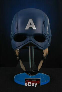 Cattoys 11 Captain America Helmet Cos Wearable Replica Prop Avengers Halloween
