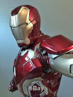 Cinemaquette 13 Scale IRON MAN Mark 43 Avengers Age of Ultron #47/1000 Signed