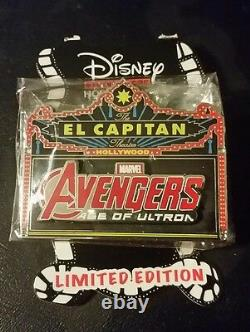 DSF Avengers Age of Ultron Marquee LE 300 Disney Pin