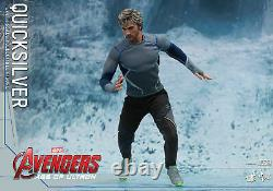 Dhl Express Hot Toys 1/6 The Avengers Mms302 Quicksilver Pietro Maximoff Figure