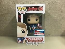 Funko Pop! Avengers Age Of Ultron Captain America (Unmasked) #92 849803057305