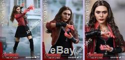 HOT TOYS AVENGERS AGE OF ULTRON Scarlet Witch Movie Masterpiece