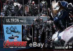 HOT TOYS AVENGERS AOU AGE OF ULTRON ULTRON MARK I 16 FIGURE Sealed Brown Box