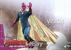 HOT TOYS Avengers 2 Age of Ultron Vision 1/6 Figure IN STOCK MMS296
