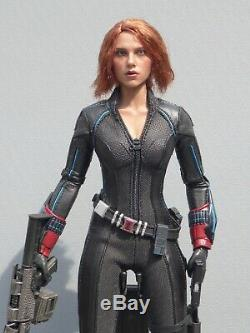 HOT TOYS BLACK WIDOW Avengers Age Of Ultron MMS288 16 Complete Boxed + Shipper