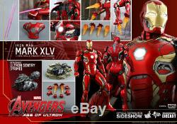 HOT TOYS Iron Man Mark XLV Avengers Age of Ultron 1/6 Scale Figure