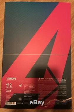 HOT TOYS MMS296 AVENGERS AGE OF ULTRON THE VISION 1/6 Scale Marvel Sideshow