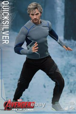 HOT TOYS MMS302 Avengers 2 Age of Ultron Quicksilver 1/6 Collectible Figure