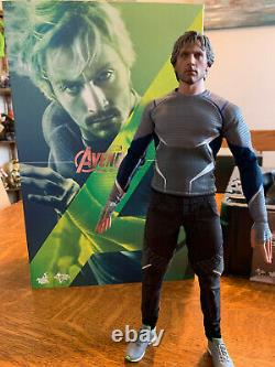 HOT TOYS MMS302 Avengers 2 Age of Ultron Quicksilver 1/6 Collectible Figure USED