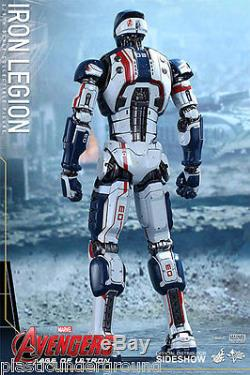 Hot Toys 12 Marvel Avengers Aou Iron Legion Fig 1/6 Scale Age Of Ultron Man New