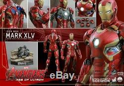 Hot Toys 1/4TH Iron Man Mark XLV Avengers Age of Ultron EXCLUSIVE QS006