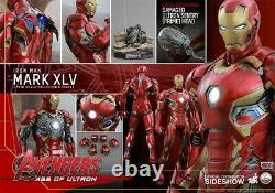Hot Toys 1/4 Scale 18 Inch Avengers Age of Ultron IRON MAN MARK XLV 45 QS006