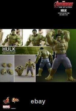 Hot Toys 1/6 Avengers Age of Ultron Hulk Deluxe Collectible Set MMS 287 Marvel