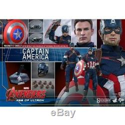 Hot Toys 1/6 Captain America Avengers Age of Ultron MMS281 MIB #902328
