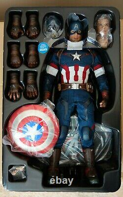 Hot Toys 1/6 Captain America Avengers The Age of Ultron Figure (MMS281)