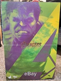 Hot Toys 1/6 MMS286 Avengers Age of Ultron Hulk Excellent Condition Used