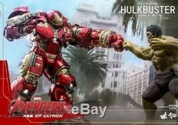 Hot Toys 1/6 MMS510 Iron Man Hulkbuster Deluxe Avengers Age of Ultron Figure Toy