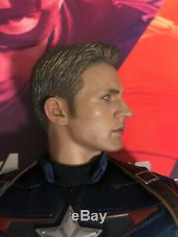 Hot Toys 1/6 MMS 281 Avengers Age Of Ultron AoU Captain America Figure Only