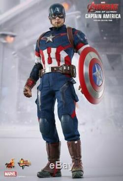 Hot Toys 1/6 Marvel Avengers 2 Age of Ultron MMS281 Captain America Figure New