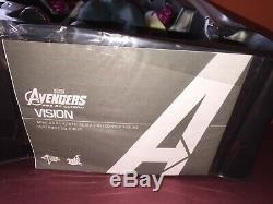 Hot Toys 1/6 Marvel Avengers Age Of Ultron Mms296 Vision Masterpiece Figure New