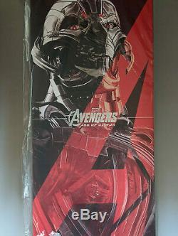 Hot Toys 1/6 Marvel Avengers Age of Ultron MMS 301 Ultron Prime Figure New