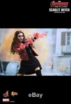 Hot Toys 1/6 Mms301 Marvel Avengers Age Of Ultron Scarlet Witch 12 Figure