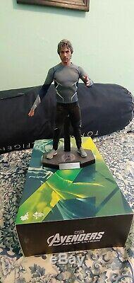 Hot Toys 1/6 Mms302 Quicksilver 1/6 Scale Action Figure Avengersage Of Ultron