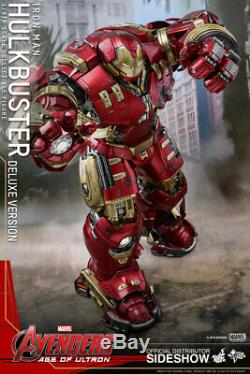 Hot Toys 1/6 Scale 12 Inch Avengers Age of Ultron HULKBUSTER DELUXE MMS510
