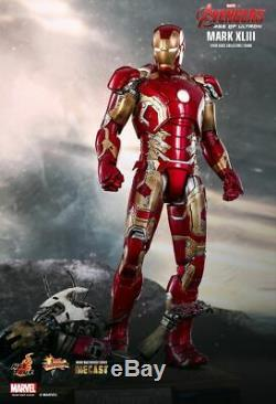 Hot Toys 1/6 Scale 12 Inch Avengers Age of Ultron IRON MAN MARK XLIII 48 MMS278D