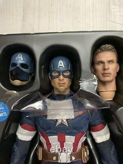 Hot Toys 1/6 Scale Captain America Avengers Age of Ultron MMS281 Marvel Figure