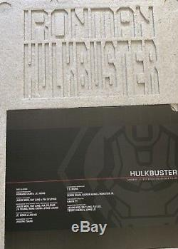 Hot Toys 1/6 Scale Iron Man Hulkbuster MMS285 Avengers Age Of Ultron