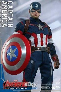 Hot Toys 1/6 Scale Marvel Avengers Age of Ultron Captain America MMS281 Figure