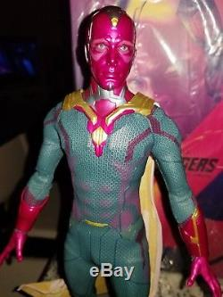 Hot Toys 1/6 Scale Vision Figure Avengers Age of Ultron