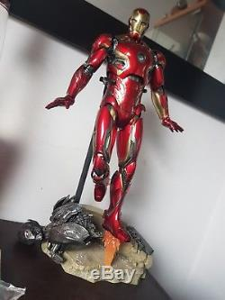 Hot Toys 1/6 scale Iron Man MK45 Figure Avengers age of Ultron Marvel toy